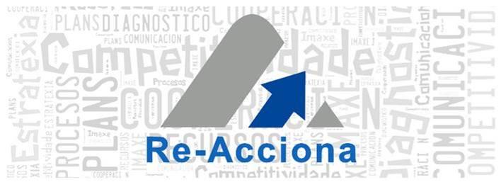 PROYECTO reacciona - NOTA DE AVISO - AYUDAS A LOS SERVICIOS DE ASISTENCIA, DIAGNÓSTICO Y SOPORTE EN LA IMPLANTACIÓN DE SOLUCIONES DE EMPRESA DIGITAL E INDUSTRIA 4.0 PARA SU REALIZACIÓN EN EMPRESAS GALLEGAS (programa Re-accionaTIC).