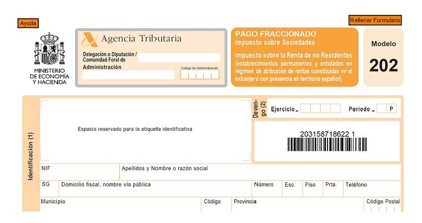 modelo 302 pago fraccionado a cuenta impuesto sociedades - NOTA DE AVISO - MODIFICACIONES EN EL REGIMEN LEGAL DE LOS PAGOS FRACCIONADOS