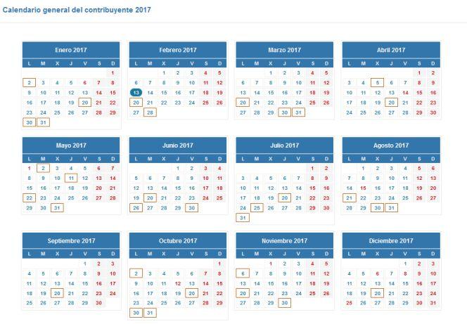 1486994285 214725 1486994409 noticia normal - CAMPAÑA RENTA 2016 - Calendario para presentar la declaración de la renta en 2017