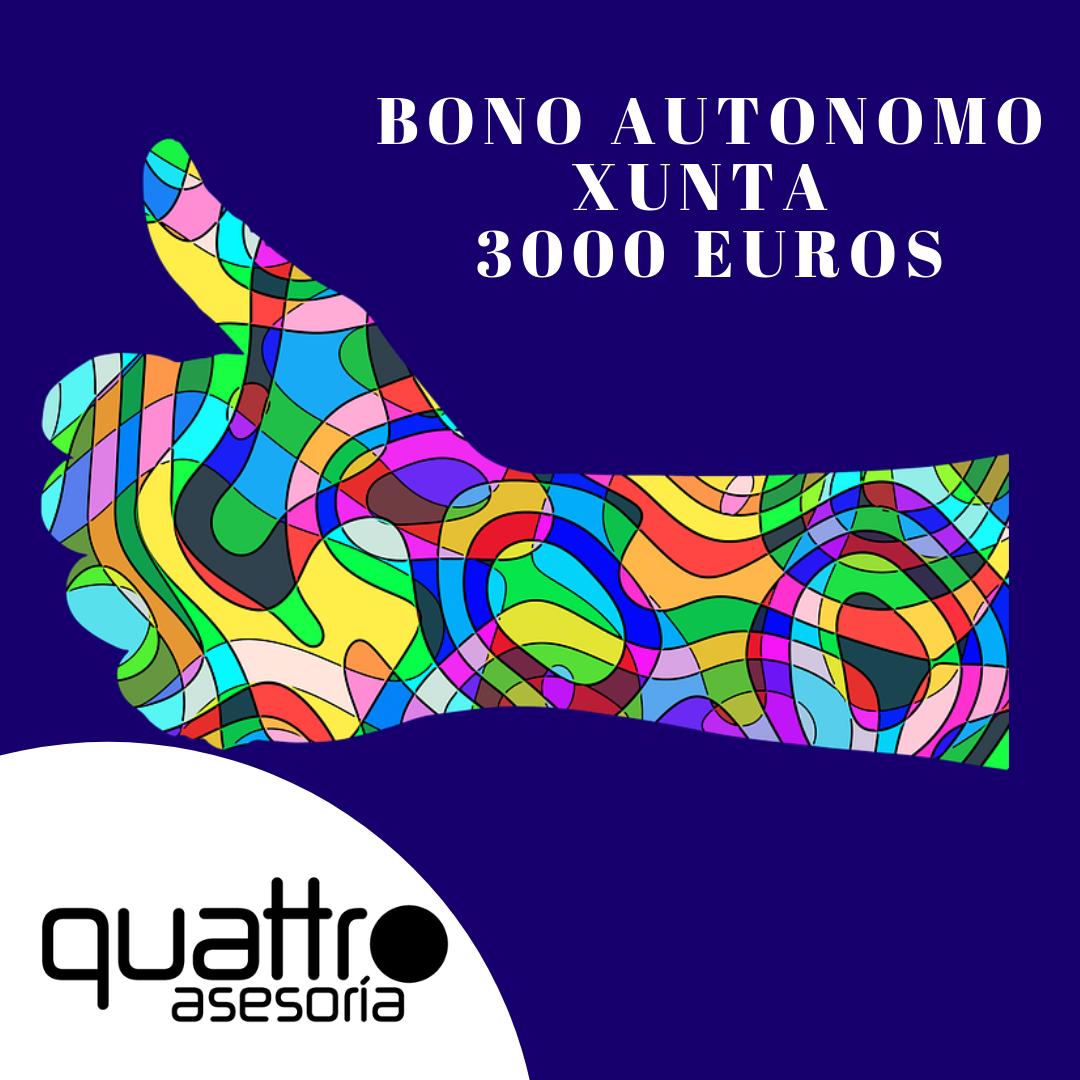 NOTA DE AVISO Bono autonomo Xunta 3000 euros - NOTA DE AVISO - BONO AUTONOMO XUNTA 3.000 EUROS