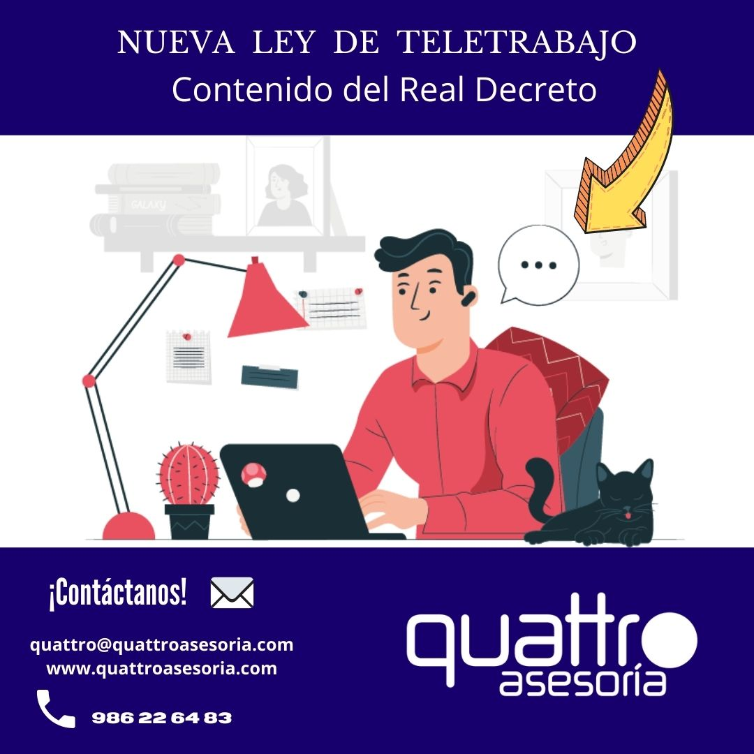 NUEVA LEY DE TELETRABAJO 5 - LEY DEL TELETRABAJO. TODAS LAS CLAVES EN DETALLE.