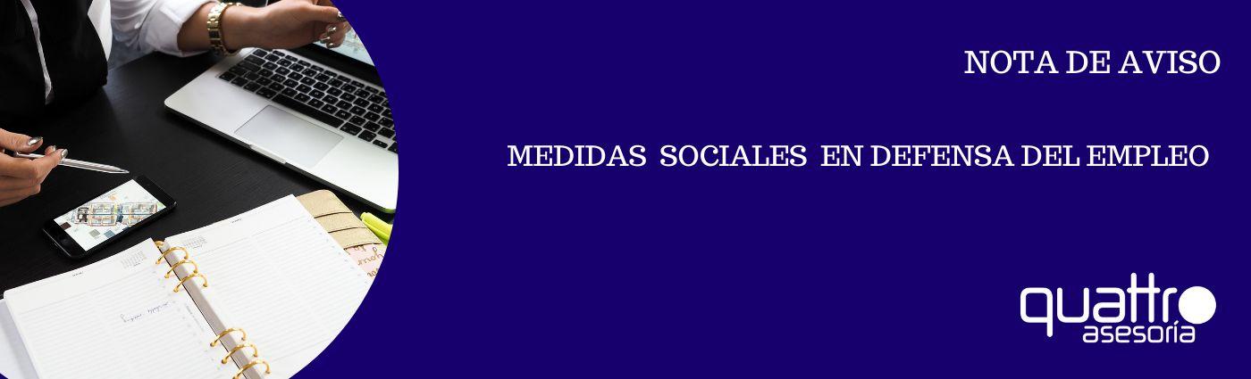 NOTA DE AVISO MEDIDAS SOCIALES EN DEFENSA DEL EMPLEO 30092020 banner - NOTA DE AVISO - REAL DECRETO LEY 30 2020 DE MEDIDAS SOCIALES EN DEFENSA DEL EMPLEO - PRORROGA ERTE