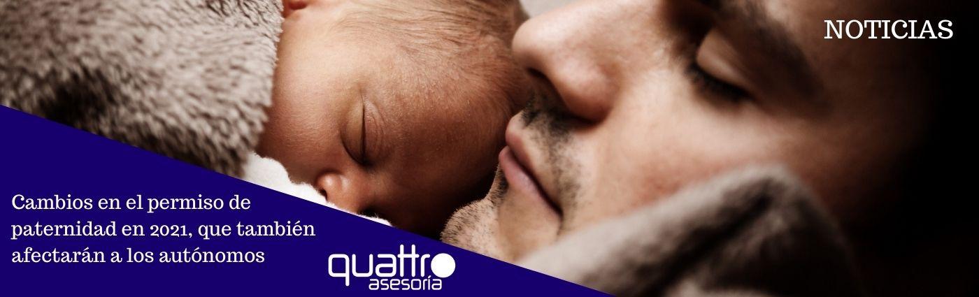 Recomendaciones a tener en cuenta antes de final de ano para la RENTA 2020 7 - Cambios en el permiso de paternidad en 2021, que también afectarán a los autónomos