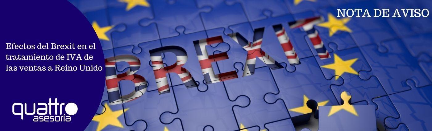 Recomendaciones a tener en cuenta antes de final de ano para la RENTA 2020 9 - Efectos del Brexit en el tratamiento de IVA de las ventas a Reino Unido