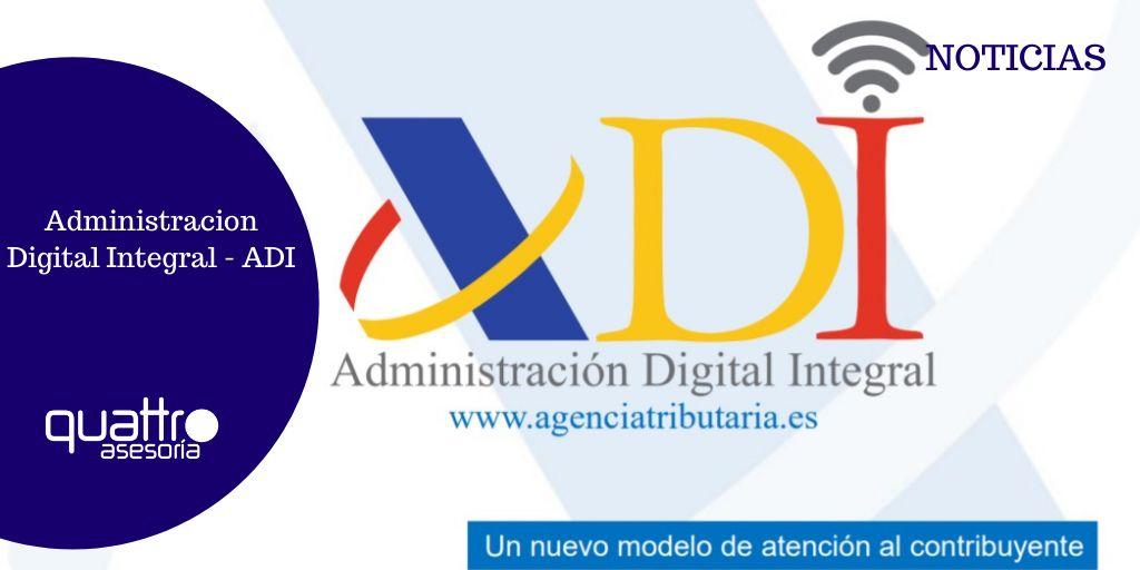 Noticia Administracion Digital Integral ADI 17022021 banner - La AEAT presenta el nuevo servicio Administración Digital Integrada
