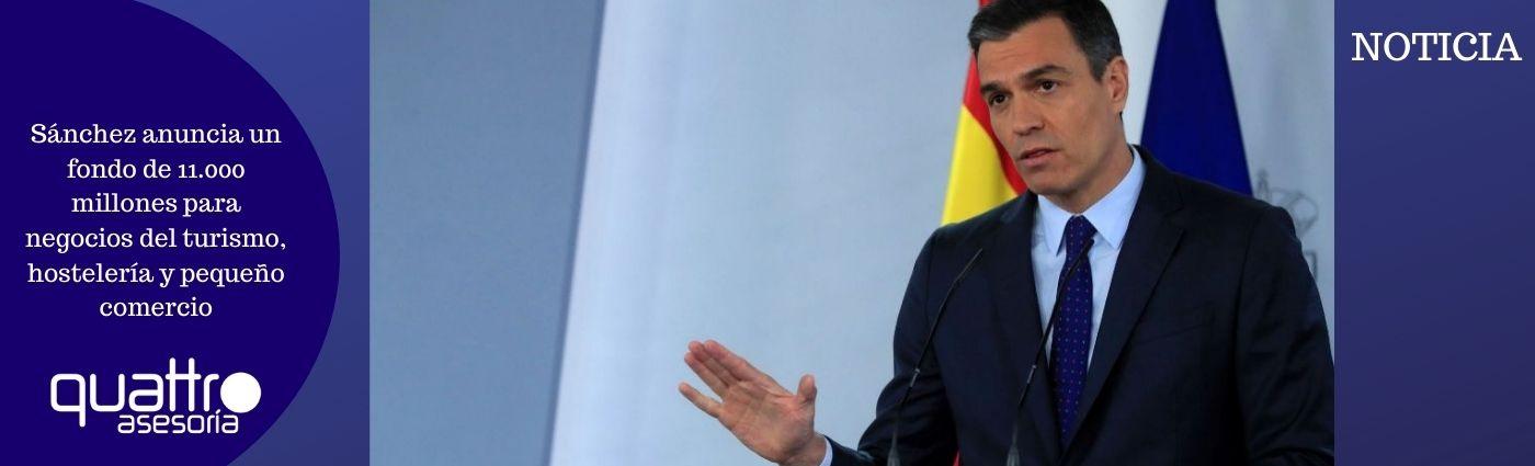 Sanchez anuncia un fondo de 11.000 millones para negocios del turismo hosteleria y pequeno comercio - Sánchez anuncia un fondo de 11.000 millones para negocios del turismo, hostelería y pequeño comercio