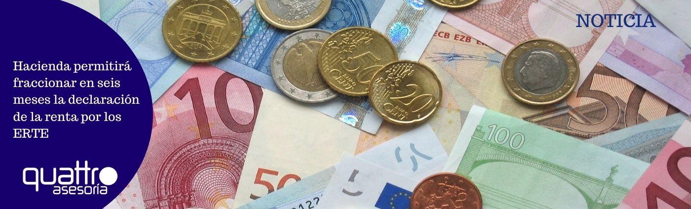 Hacienda permitira fraccionar en seis meses la declaracion de la renta por los ERTE - Hacienda permitirá fraccionar en seis meses la declaración de la renta por los ERTE