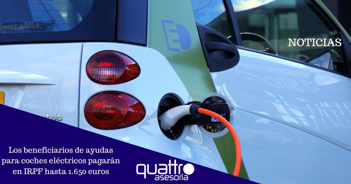 Noticia Los beneficiarios de ayudas para coches electricos pagaran en IRPF hasta 1.650 euros 09042021 Post banner 3 - Los beneficiarios de ayudas para coches eléctricos pagarán en IRPF hasta 1.650 euros