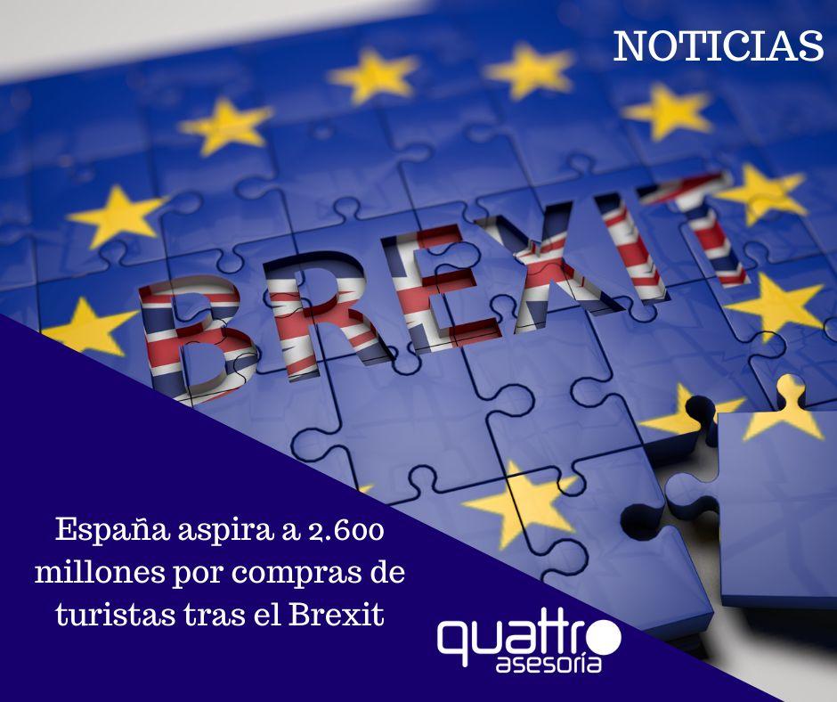Noticia Espana aspira a 2.600 millones por compras de turistas tras el Brexit 09092021 Post INSTAGRAM - España aspira a 2.600 millones por compras de turistas tras el Brexit